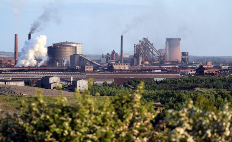 Scunthorpe'deki British Steel fabrikası