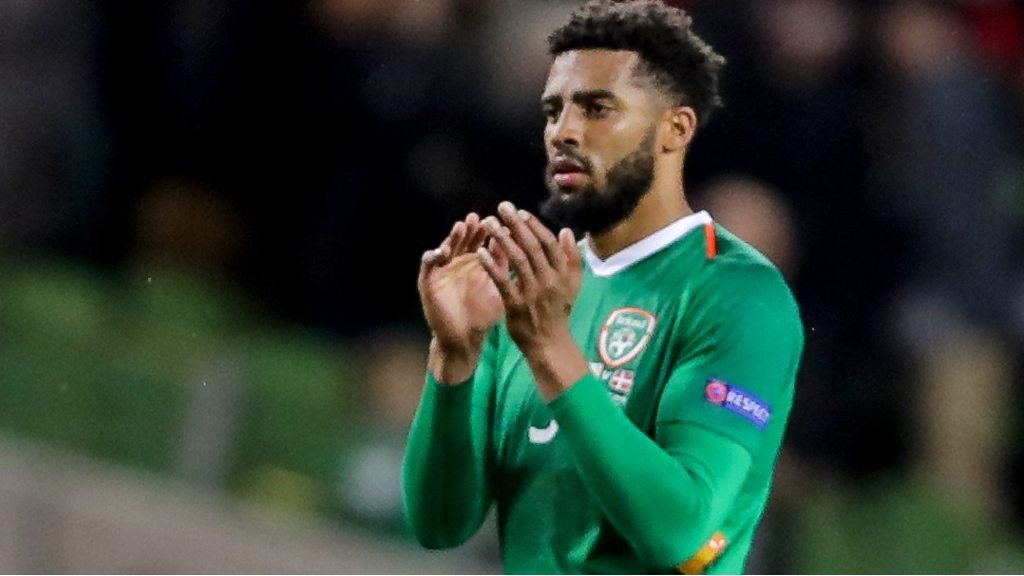 Nations League: Cyrus Christie upbeat after Republic of Ireland draw with Denmark