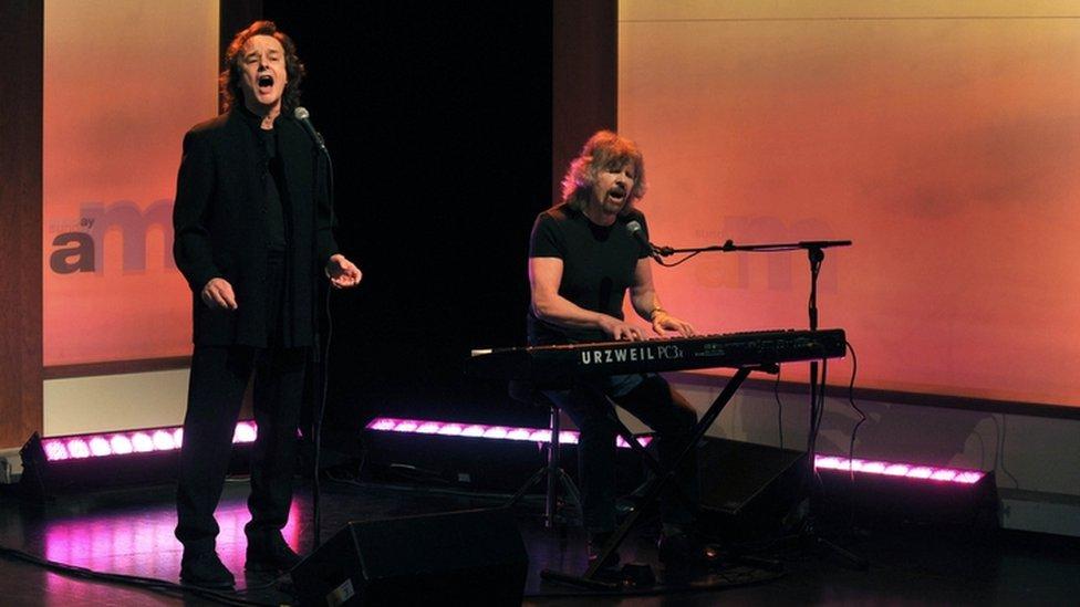 Colin Blunstone and Rod Argent