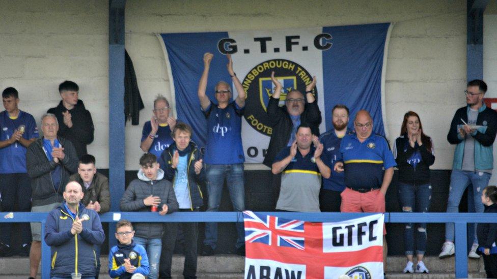 Gainsborough Trinity fans