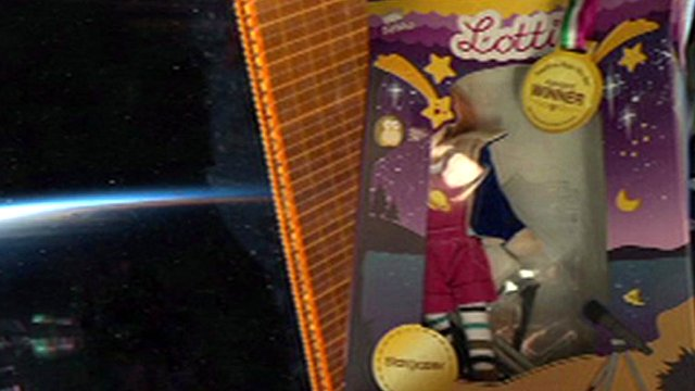 Lottie, the doll in outer-space