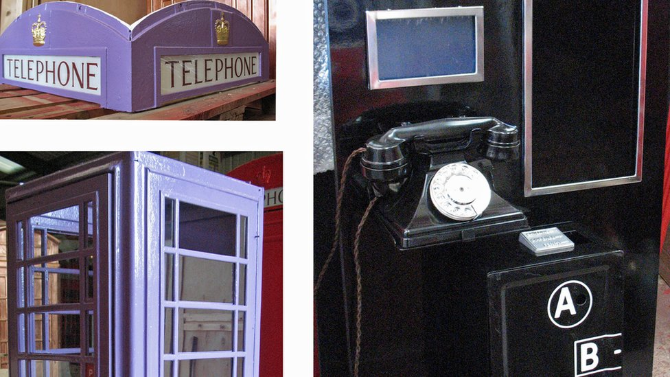 Deconstructed phone box