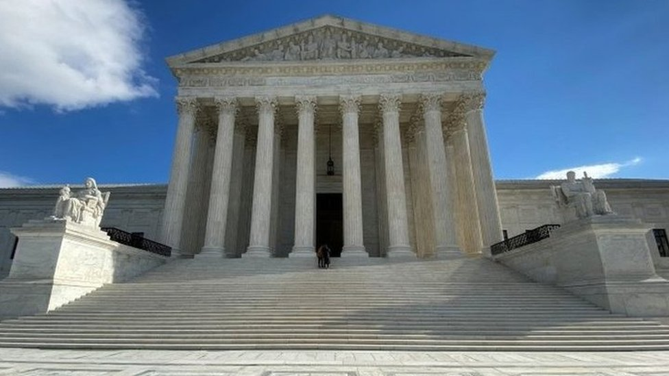 مبنى المحكمة العليا في الولايات المتحدة