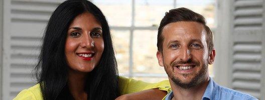 Radha Vyas and Lee Thompson