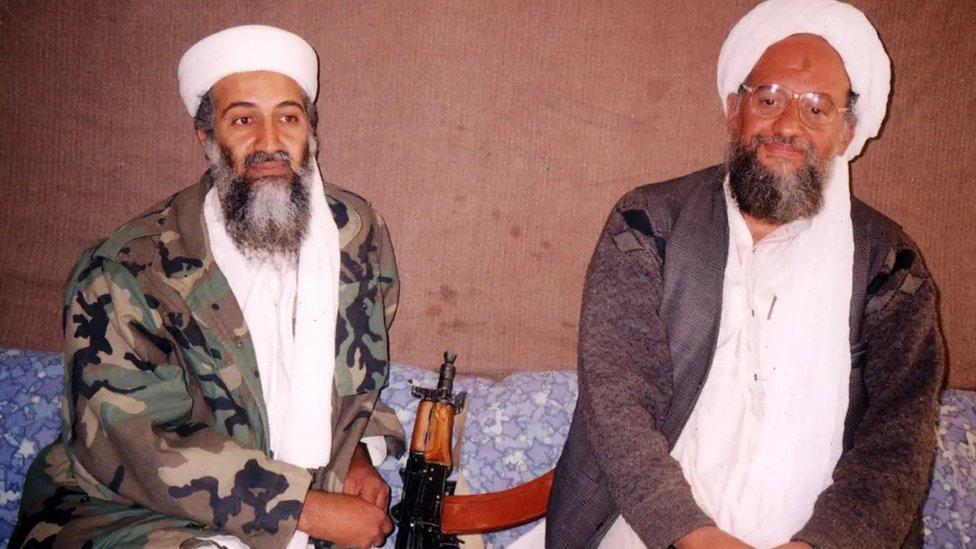 أسامة بن لادن والظواهري