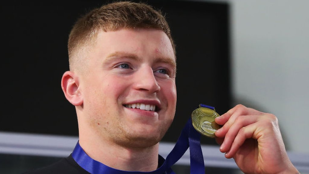 British Swimming Championships: Adam Peaty wins 50m breaststroke gold