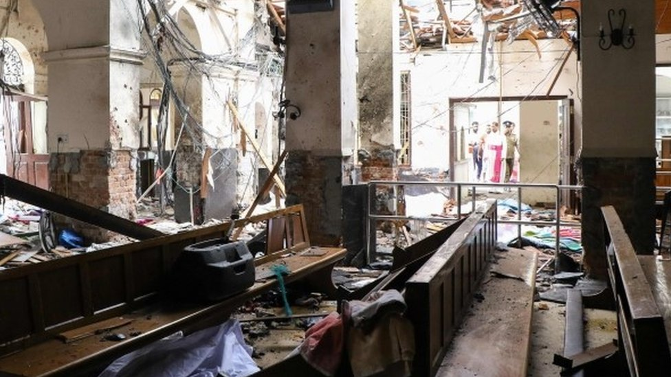 Sri Lanka attacks: Archbishop of Wales condemns 'barbaric' acts