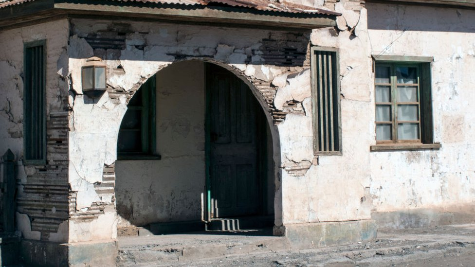 Oficinas abandonadas de Humberstone