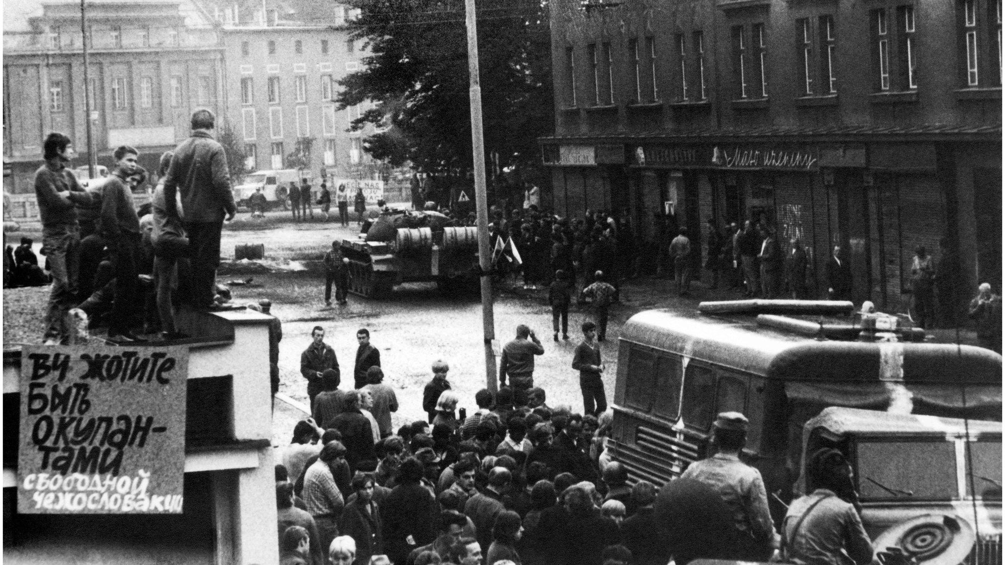Вторгнення до Чехословаччини 1968: спогади англійки, яка була в Ленінграді