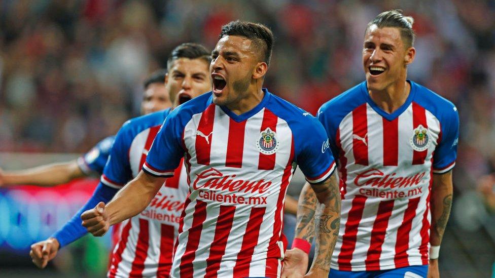 Jugadores de las Chivas de Guadalajara