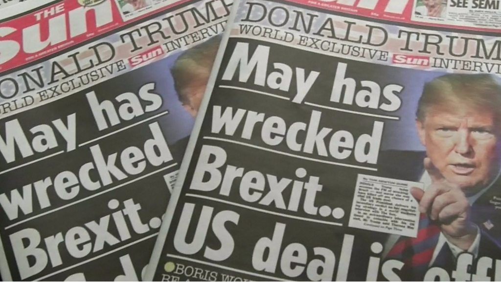 Inside story on The Sun's Trump interview