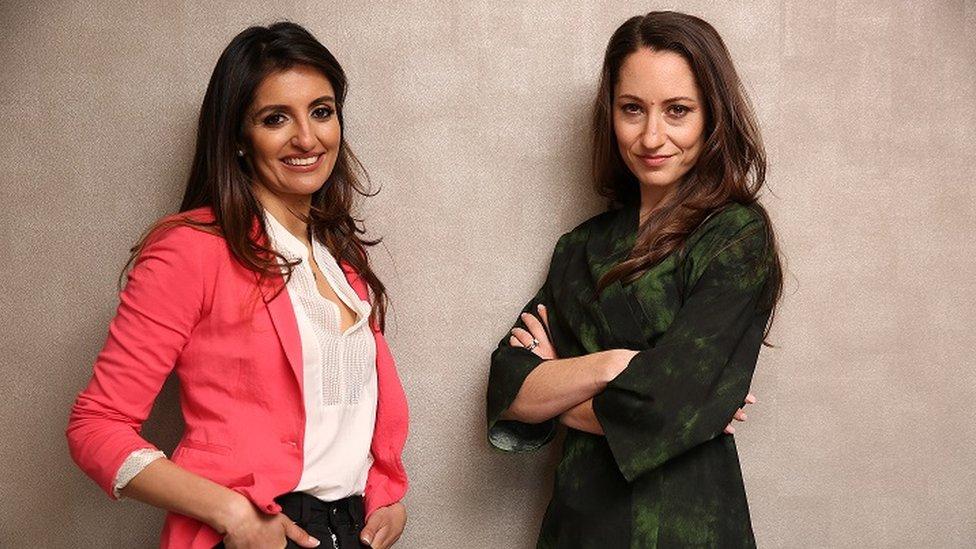 Sonal Sachdev Patel and Jemma Wayne-Kattan