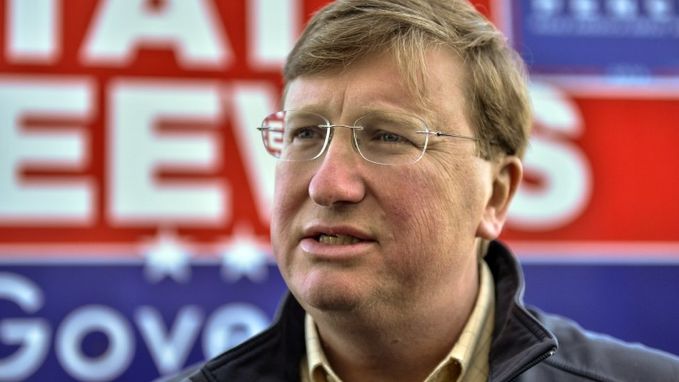 Tate Reeves was endorsed by Donald Trump ahead of the election