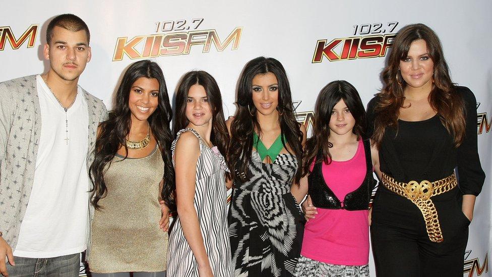 Rob, Kourtney, Kendall, Kim, Kylie ve Khloe