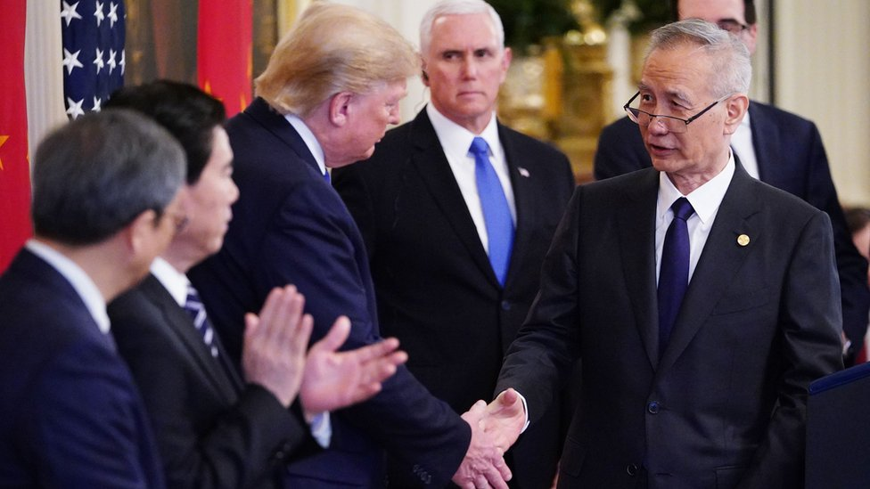 Trump y Liu