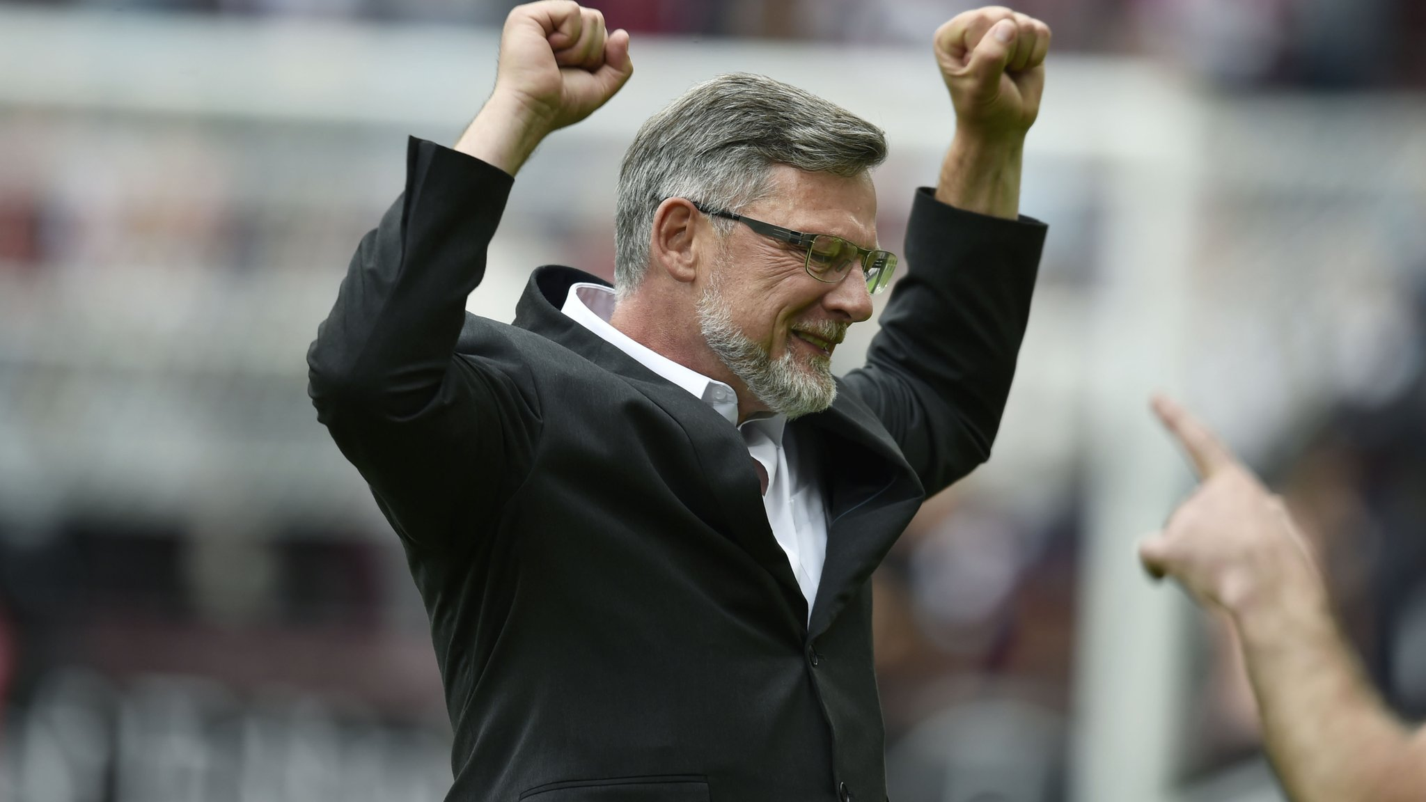 Hearts boss Levein savours win over Celtic but rues Berra injury