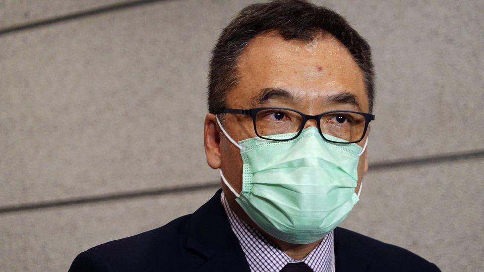 李桂華之前在有組織罪案及三合會調查科工作,周三首次以國家安全處高級警司會見傳媒。