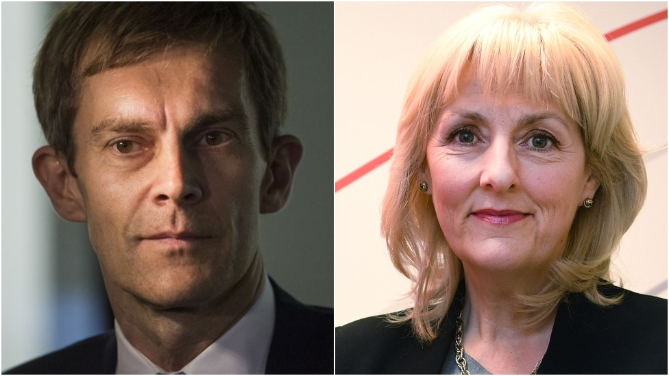 Seumas Milne and Jennie Formby