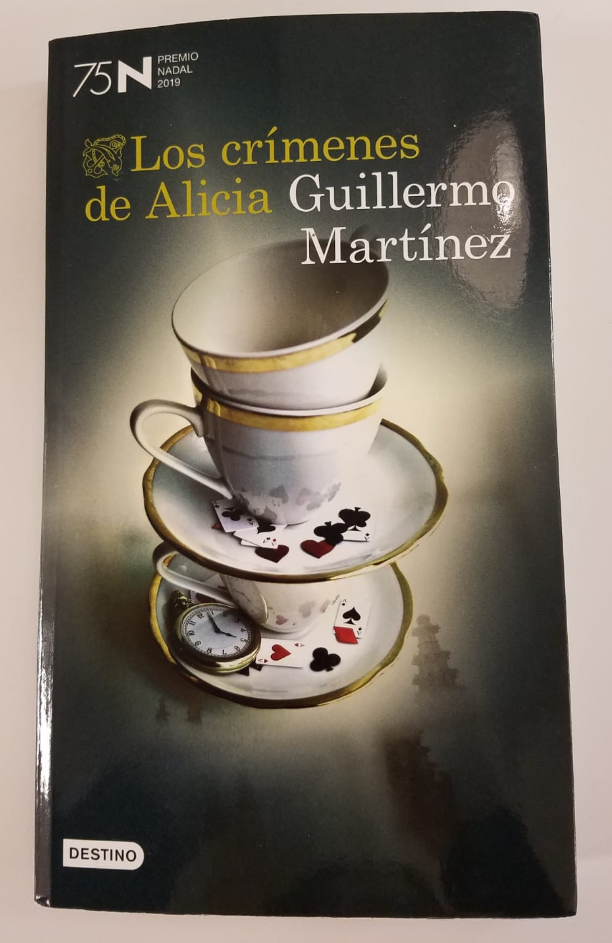 Libro Los crímenes de Alicia de Guillermo Martínez.