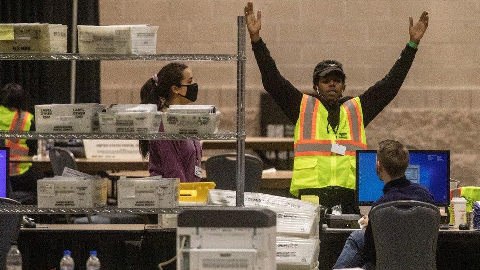 賓州選舉點票