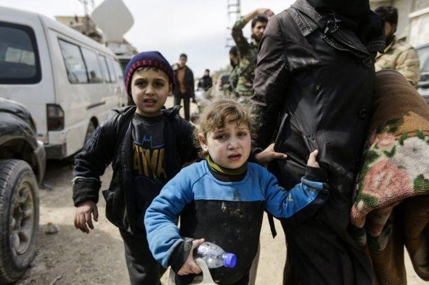warga sipil kota Afrin