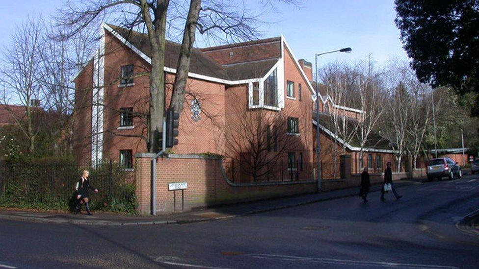 Lucy Cavendish College in Cambridge.