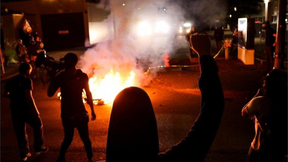 Incidentes en Portland.