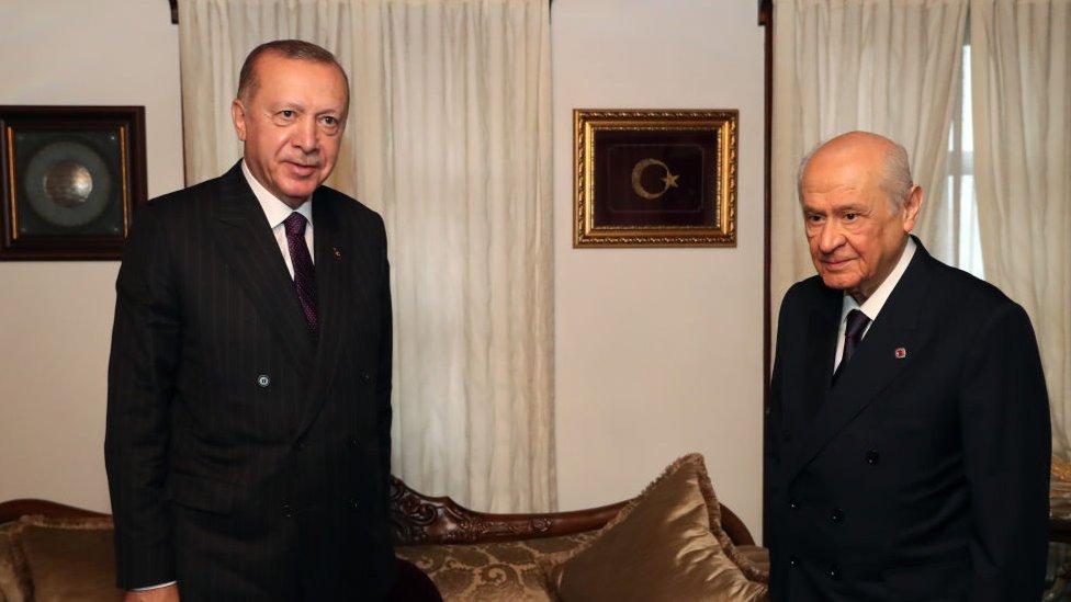 Erdoğan ve Bahceli