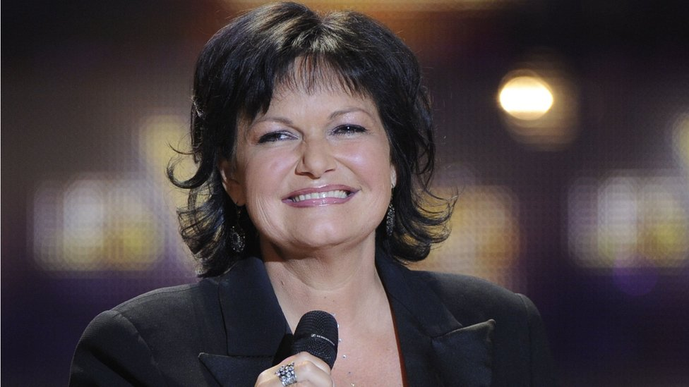 Belgian singer Maurane during ceremony on 1 March 2011