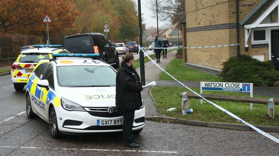 Three arrested over Crawley street stabbing murder