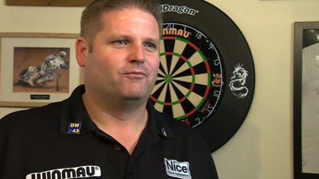 Scott Mitchell excited ahead of Grand Slam of Darts