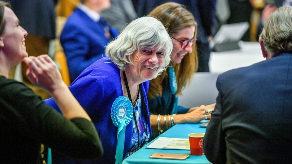 Brexit Party's Ann Widdecombe wins South West seat