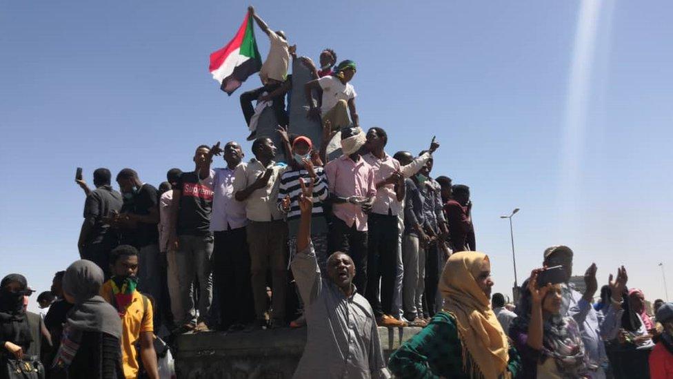 نتيجة بحث الصور عن مظاهرات السودان