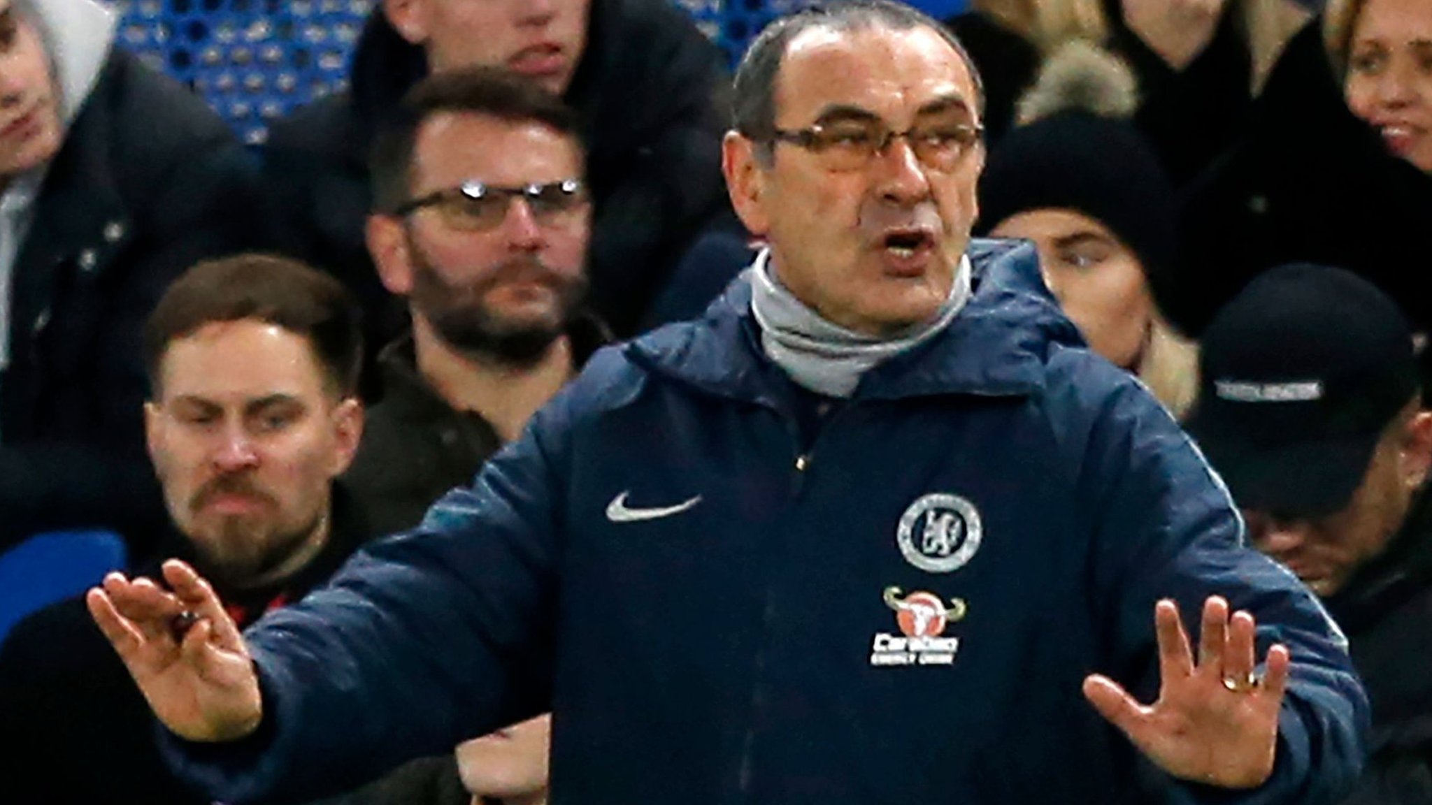 I have to think I will be Chelsea manager for a long time - Sarri