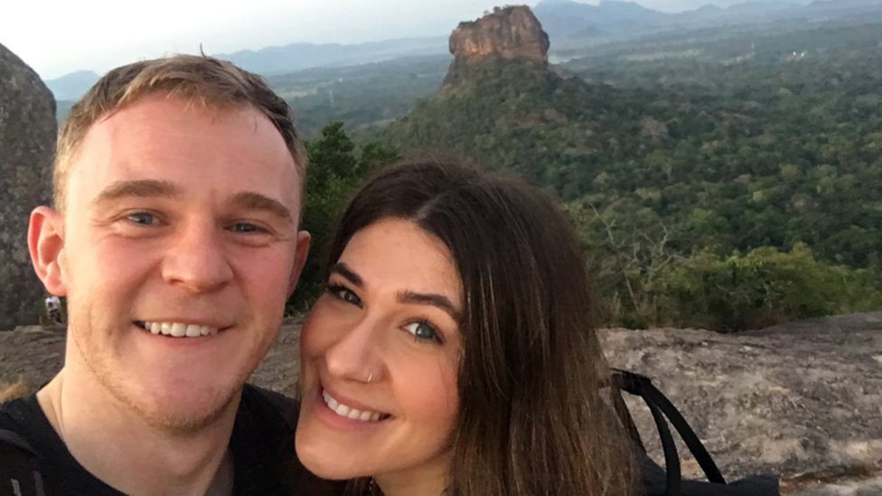 Scared Sri Lanka honeymooners 'just want to get home'