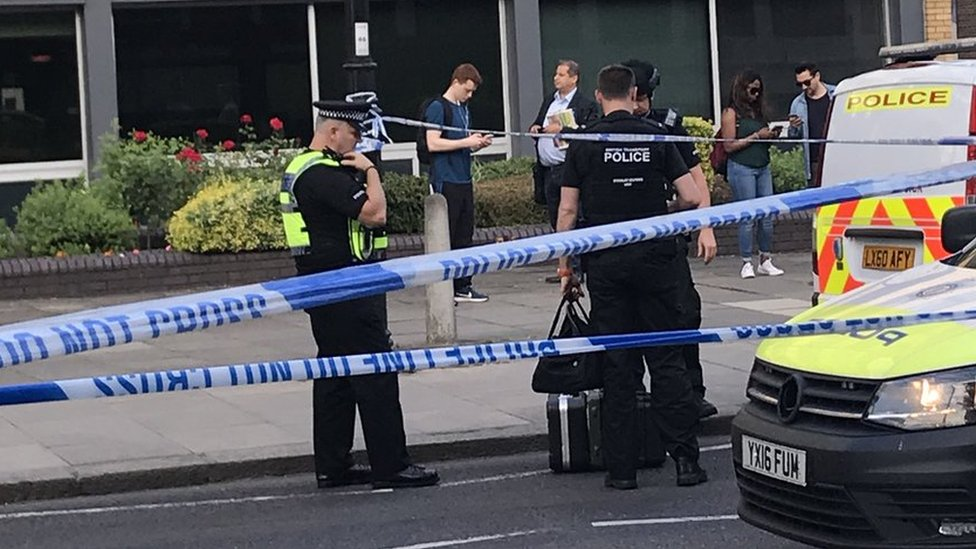 Southgate Tube explosion: Five injured, two in hospital