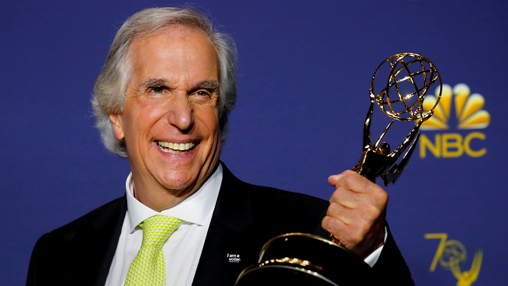 Quiz of the Week: Who was Winkler's 'pal' at the Emmys
