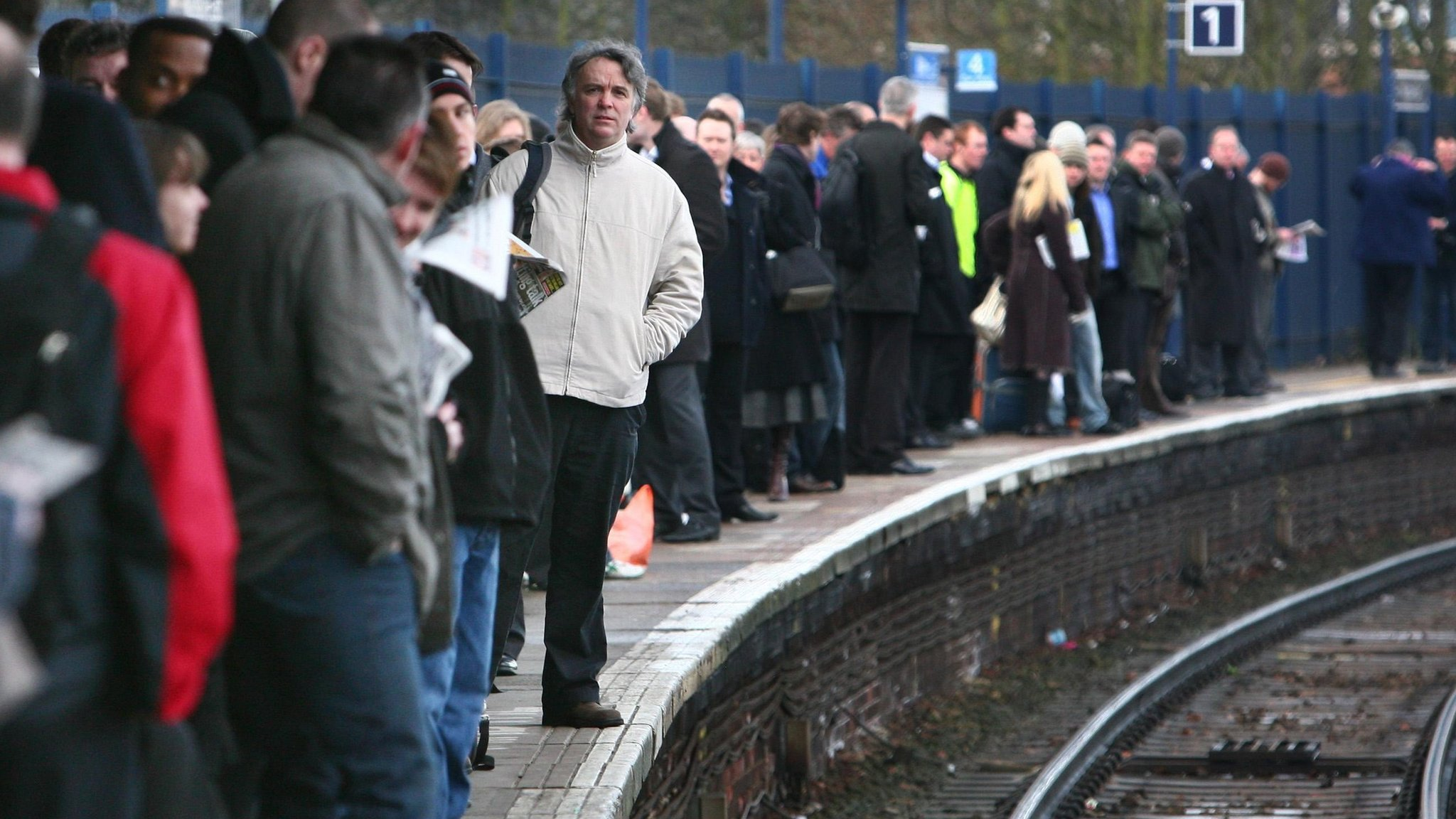 Rail delays are the 'worst for 12 years'