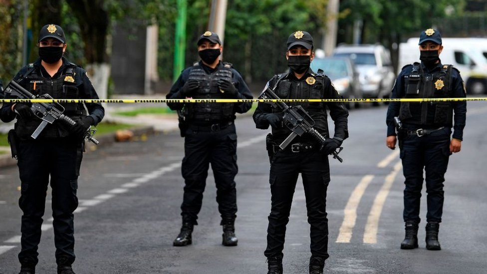 Policía CDMX.