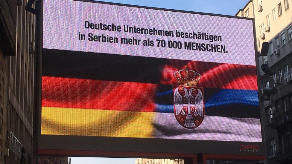 Bilbord, Nemačka, Merkel