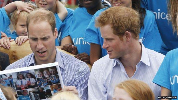 Hari i njegov brat Vilijam su zajedno radili na raznim dobrotvornim inicijativama