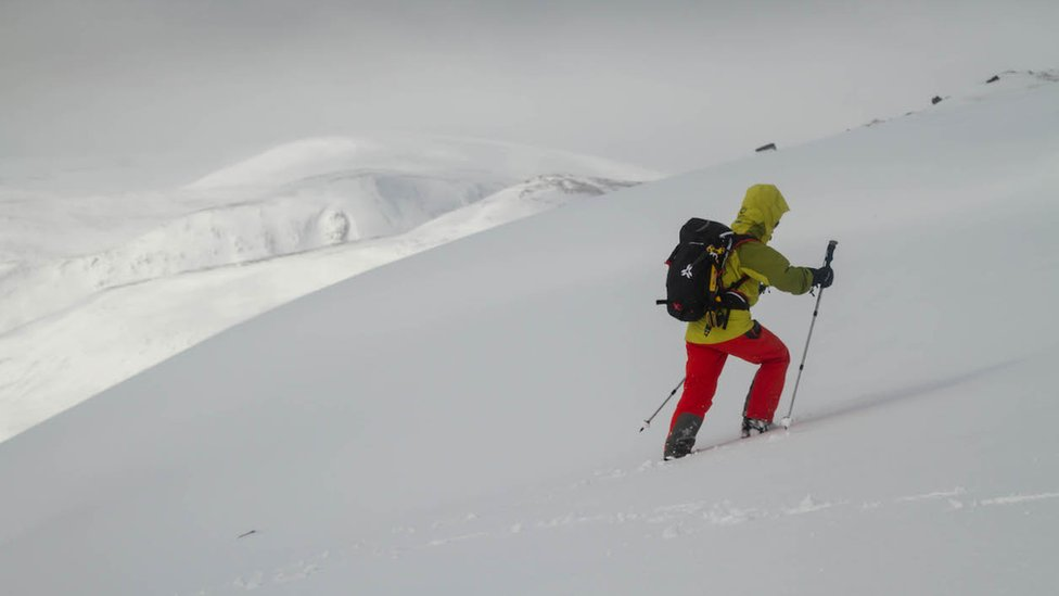 Avalanche numbers on Scottish mountains 'among lowest'