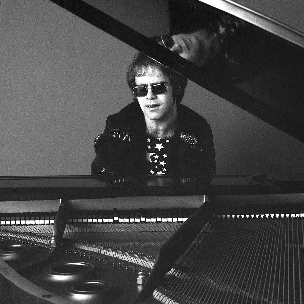 Elton John en 1970.