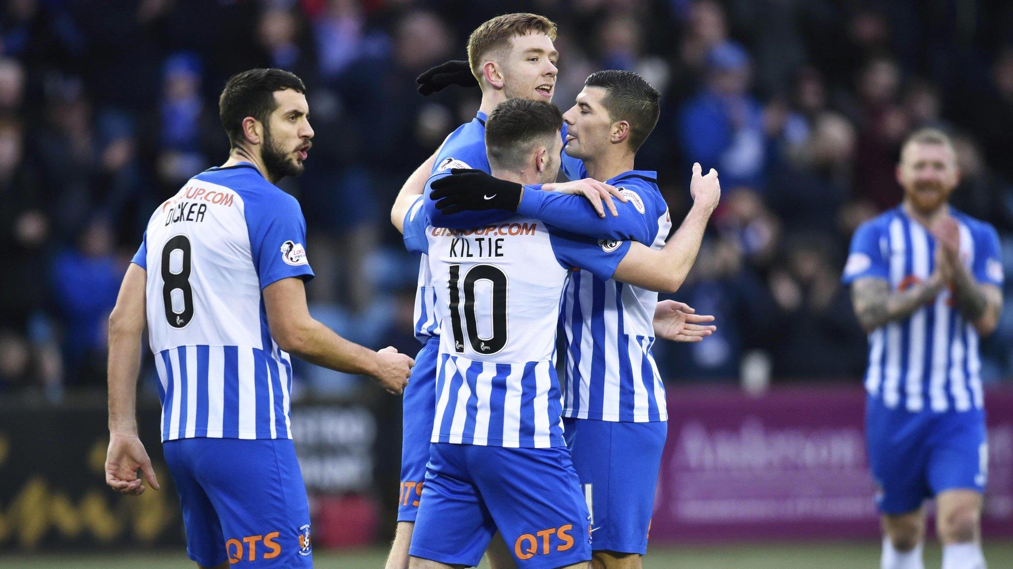 Kilmarnock 2-0 Forfar Athletic: Findlay & Burke fire hosts in fifth round
