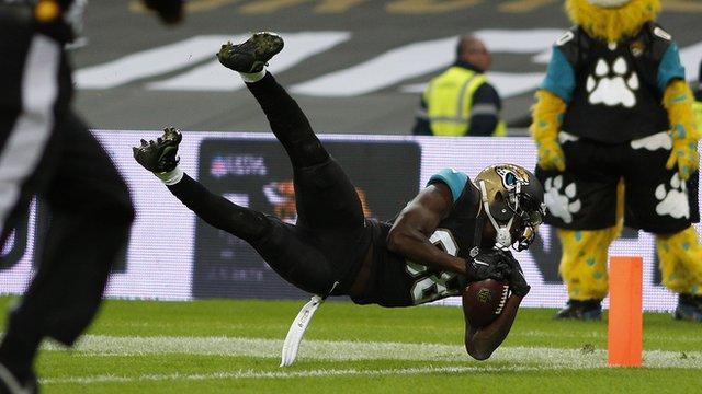Jacksonville Jaguars withstand Buffalo Bills comeback