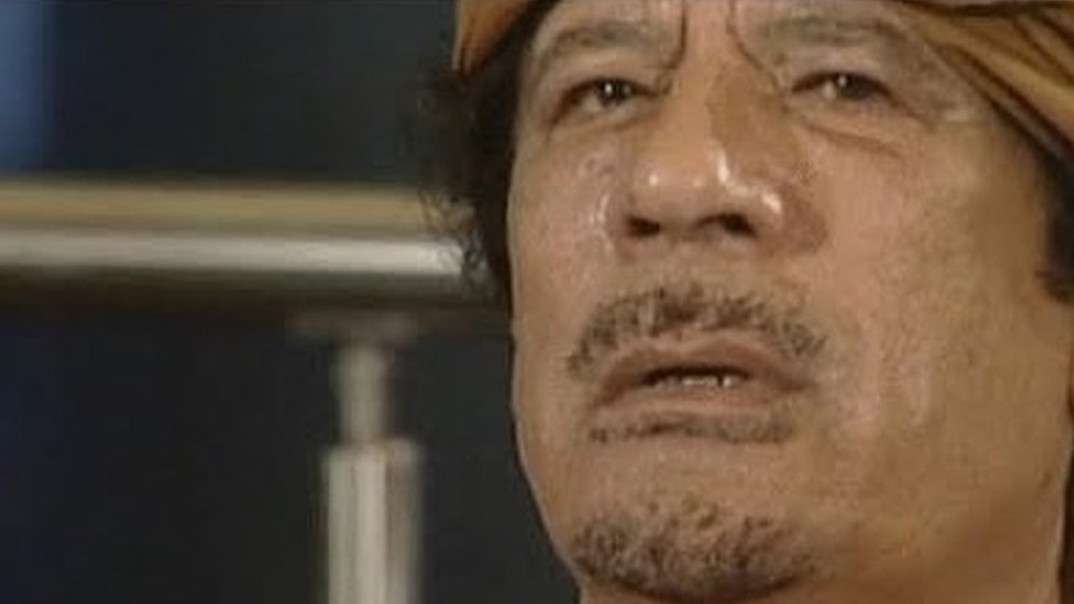 القذافي