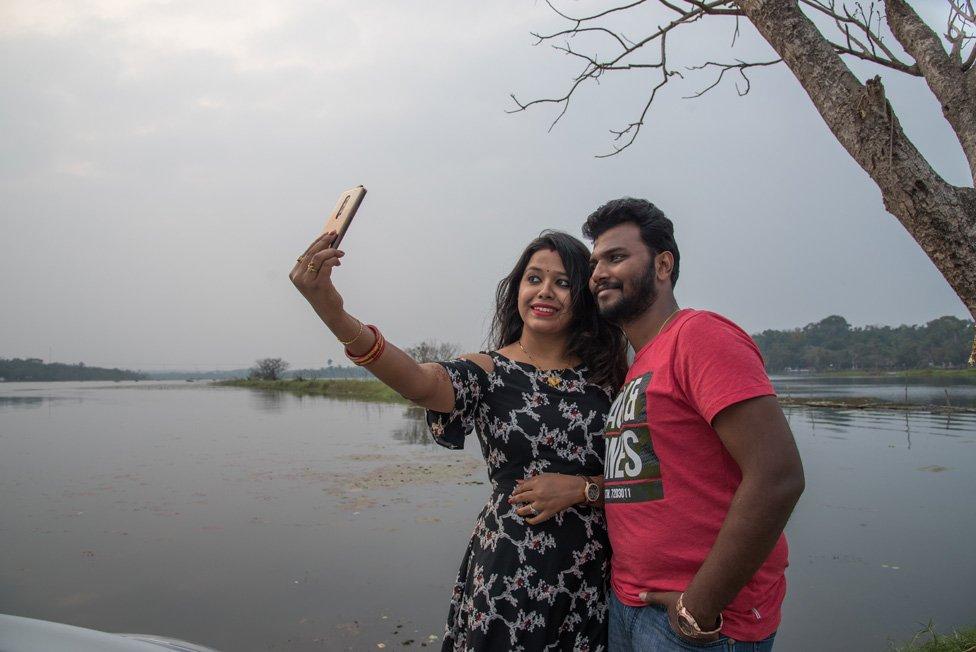 Bhagyashree y Sudeep
