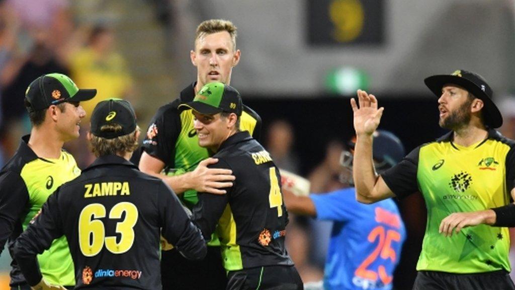 Australia edge India in thrilling T20 match