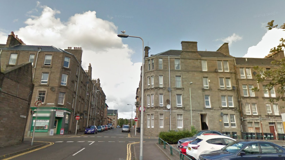 Man arrested over 'suspicious' death in Dundee