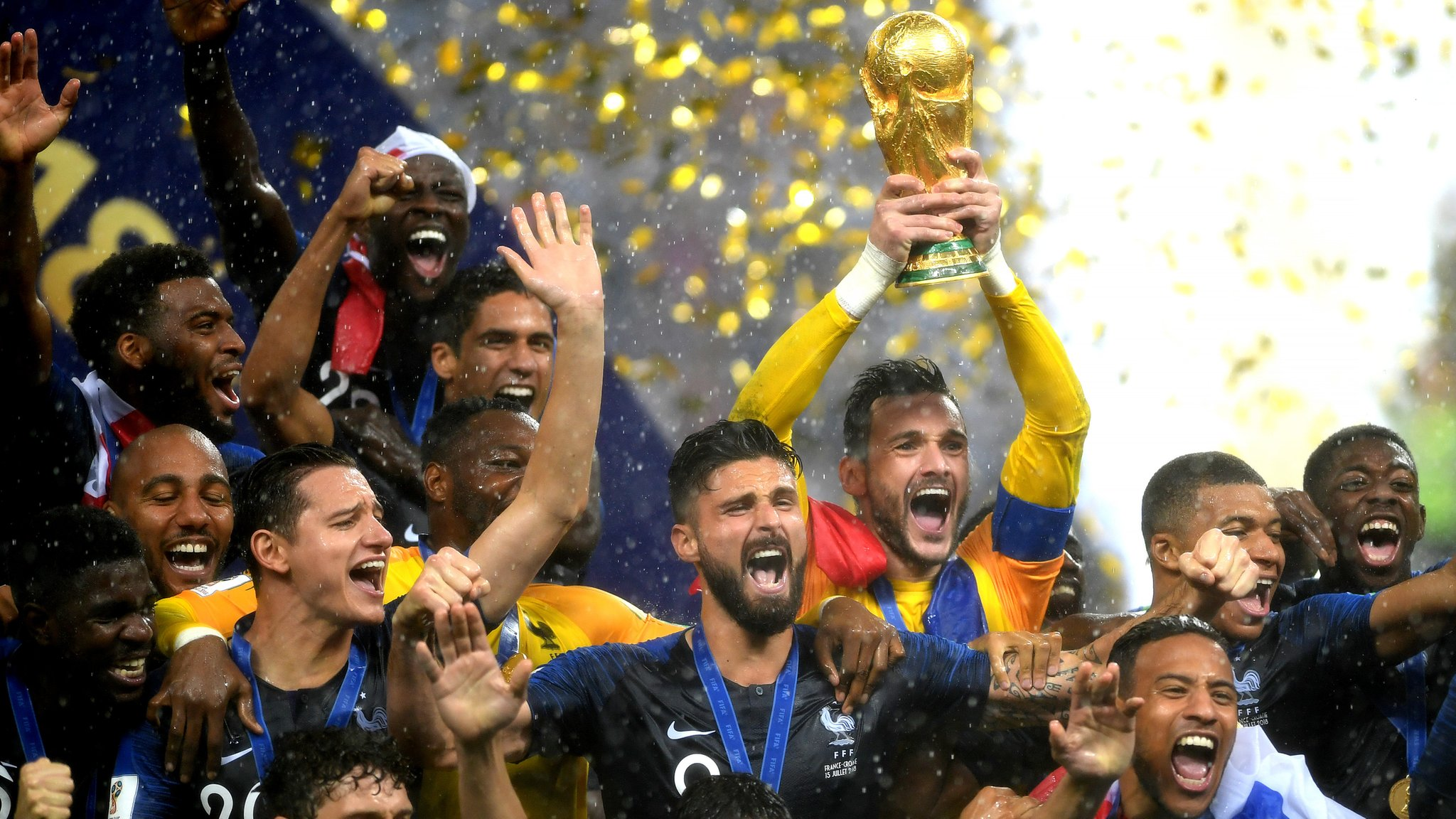 France beat Croatia in thrilling six-goal World Cup final